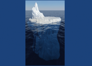 Iceberg What you can see online